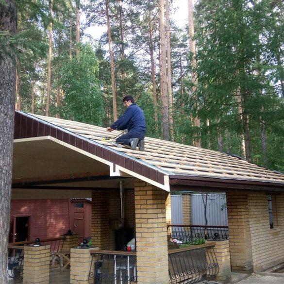 Сад архитекторов Летняя кухня