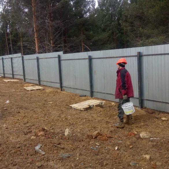 Забор в Первоуральске