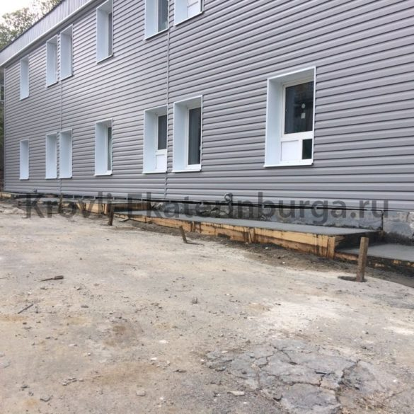 Косметический ремонт здания