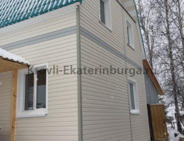 Сад Уралец Монтаж пластикового сайдинга с утеплением стен